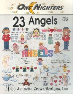 One Nighters 23 Angels #432: Jeanette Crews Designs