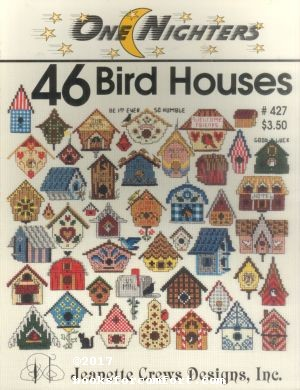 One Nighters 46 Bird Houses #427: Jeanette Crews Designs