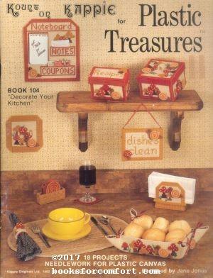 Kount on Kappie for Plastic Treasures Book: Jane Chandler