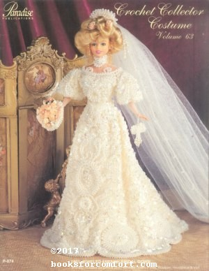 Crochet Collector Costume Volume 63 1901 Jeweled: Sandra Peach