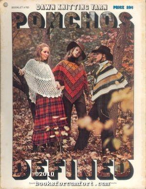 Ponchos Defined Booklet #700: American Thread Co