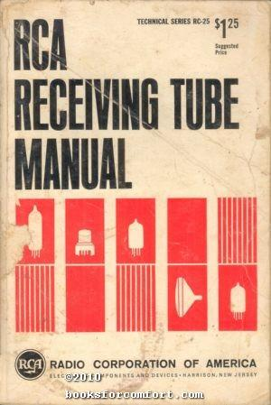 RCA Receiving Tube Manual Technical Series RC-25: Radio Corporation of
