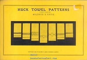 Huck Towel Patterns First Series: Mildred V Krieg