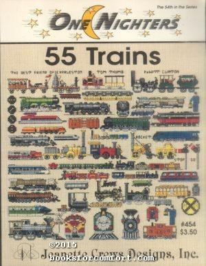 One Nighters 55 Trains #454: Jeanette Crews Designs