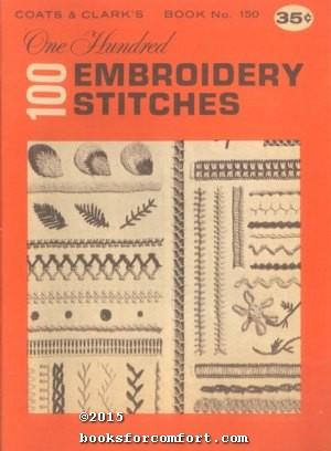 100 Embroidery Stitches Book