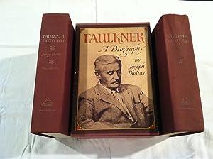 Faulkner: A Biography: 2 Volume Boxed Set: Blotner, Joseph