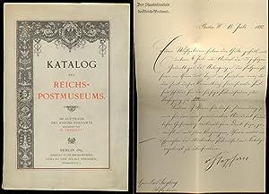 Katalog des Reichs - Postmuseums. Im Auftrage: Theinert, H. /