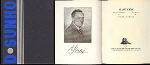 D. Sunko. Mit einer Einleitung von / with preface by Josef v. Vancas.: Sunko, Dionis