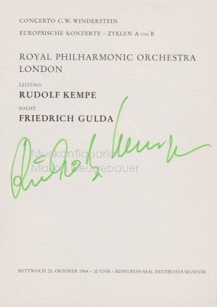 Rudolf Kempe Zvab