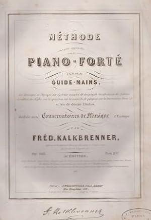 Méthode pour apprendre le Piano-Forté à l'aide: KALKBRENNER, FRÉD.:
