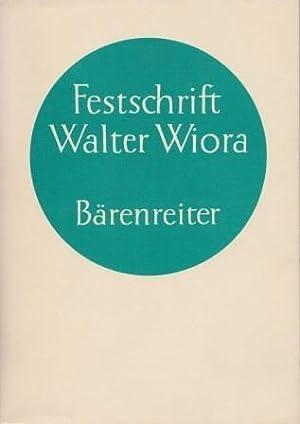 Festschrift für Walter Wiora zum 30. Dezember: FINSCHER, LUDWIG &