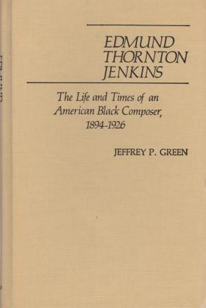 Edmund Thornton Jenkins. The Life and Times: JENKINS - GREEN,