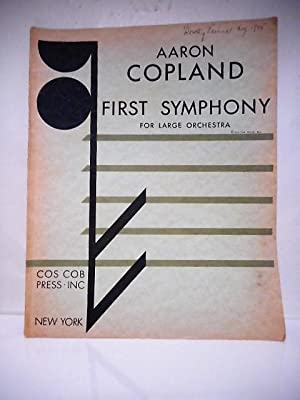 First Symphony for Large Orchestra, Orchestra Score: Copland, Aaron