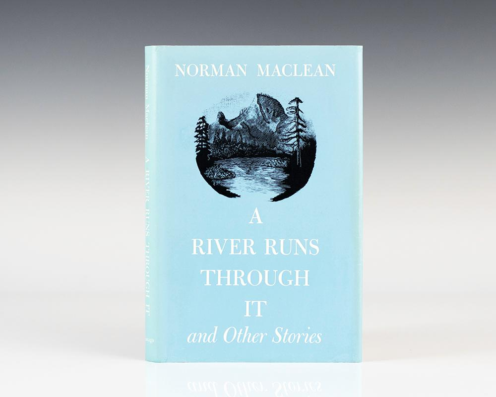 river runs through it by maclean signed