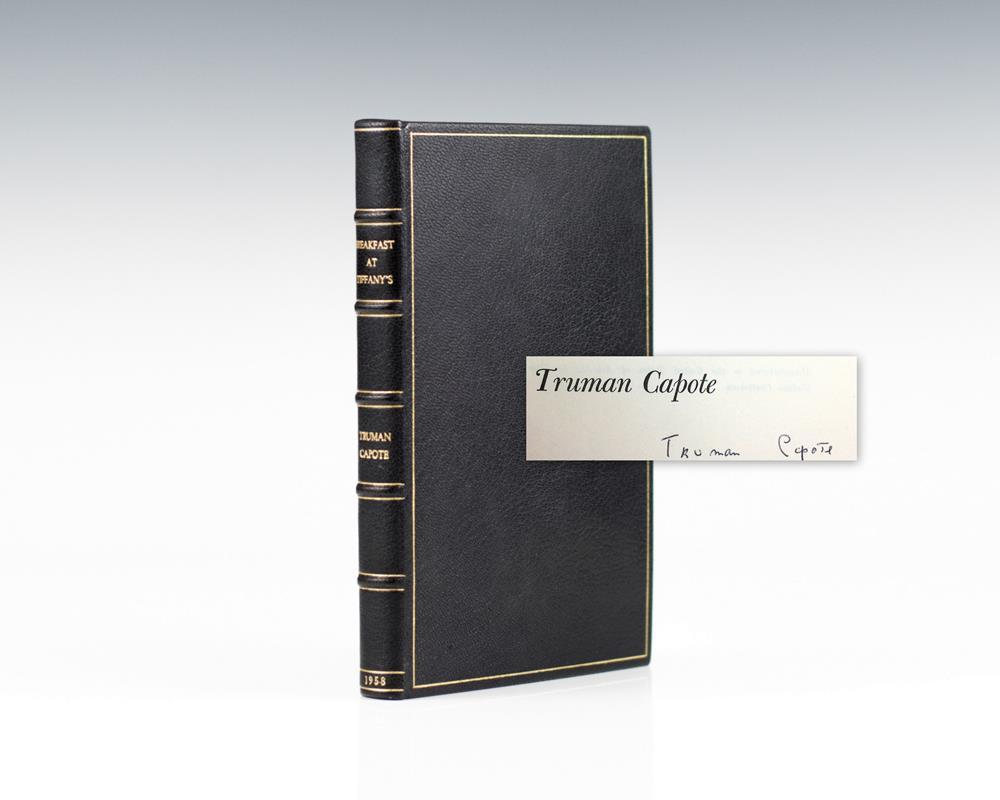 Breakfast at Tiffany by Truman Capote, First Edition - AbeBooks