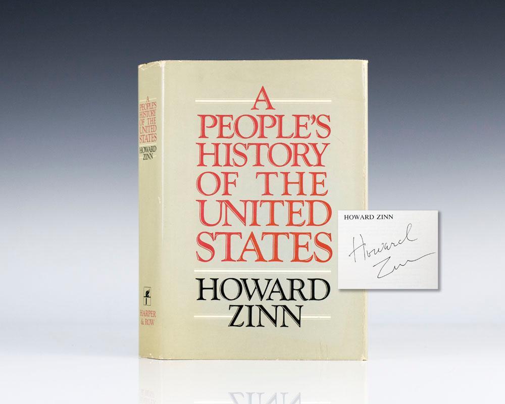 howard zinn signed