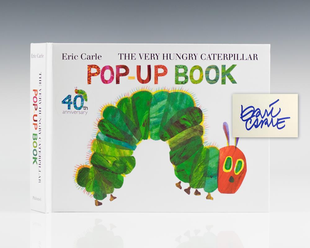 very hungry caterpillar by eric carle first edition signed
