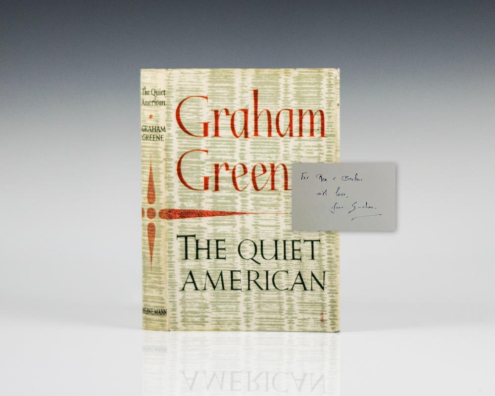 graham greene the quiet american essays Graham greene's the quiet american is set in saigon, vietnam in the early 1950's during the end of the first indochina war it portrays two simultaneous conflicts: one regarding the political turmoil of the growing american involvement that led to the vietnam war, and also the romantic triangle between the fowler, pyle and phuong.