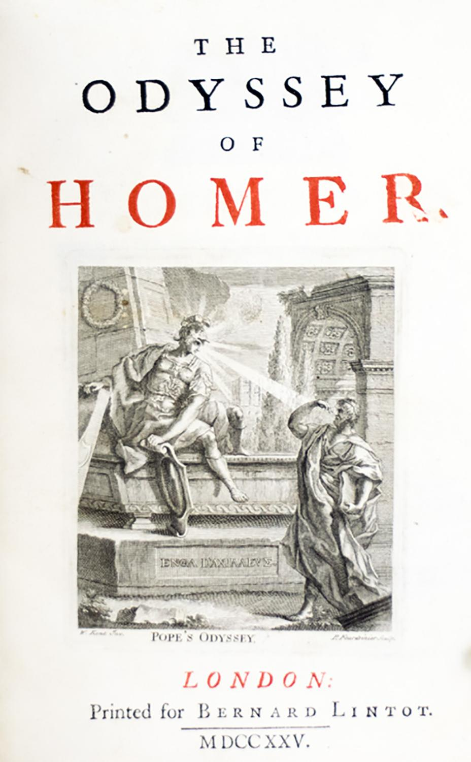 a comparison of the odyssey and the iliad by homer The iliad by homer, translated from the greek by peter green  ninety-one, his  iliad is out, and his odyssey on the way: an epic coda to an epic career  the  last clause is strictly speaking irrelevant to the comparison, but.