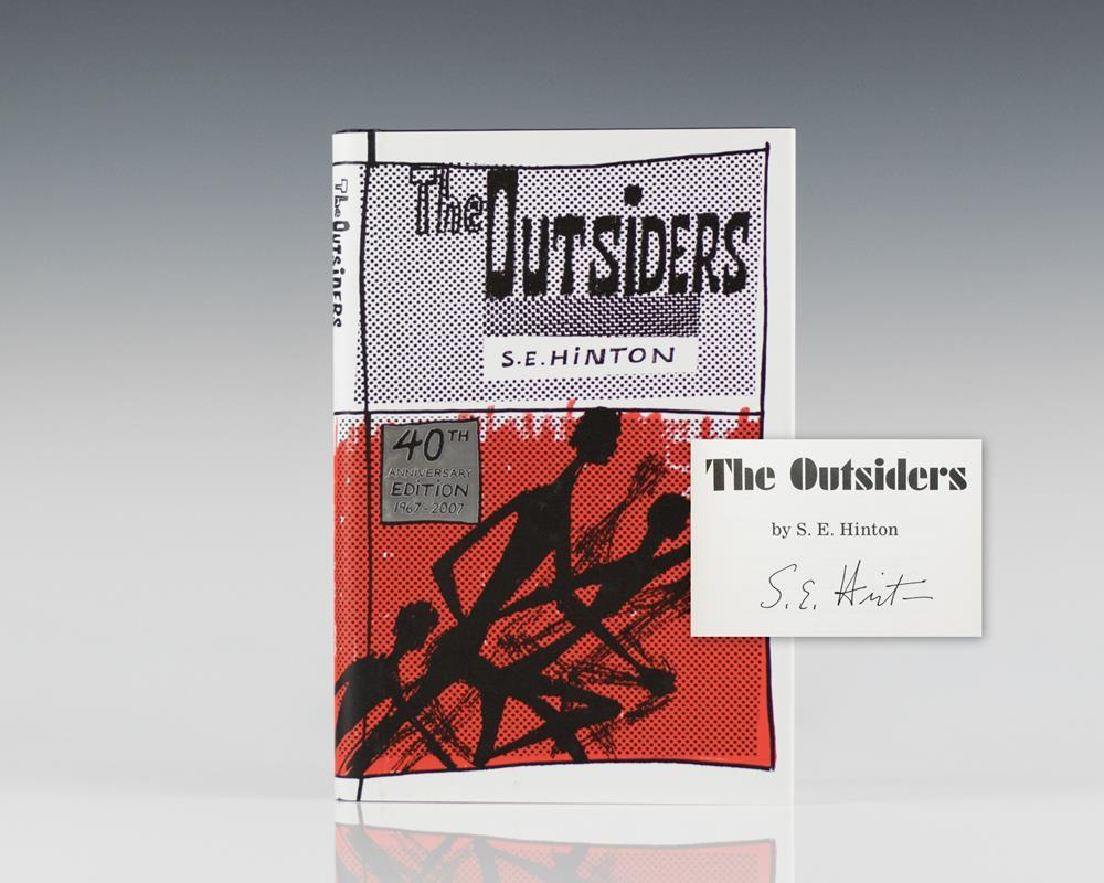 The Outsiders. Hinton, S.E Hardcover