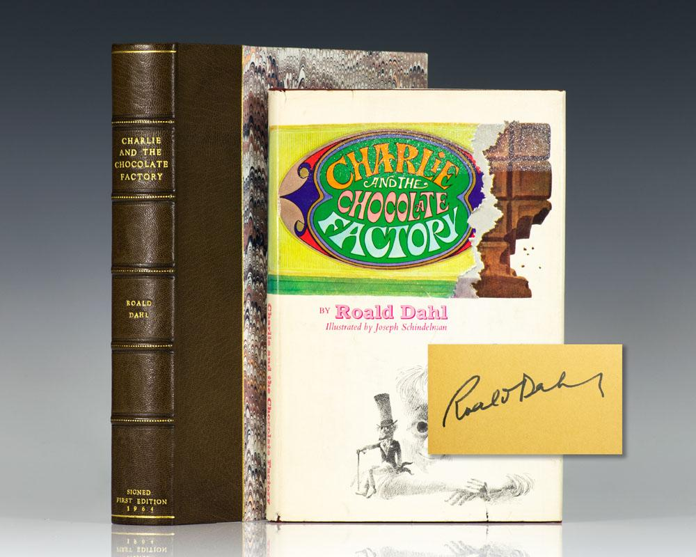Charlie and the Chocolate Factory by Roald Dahl, First Edition ...