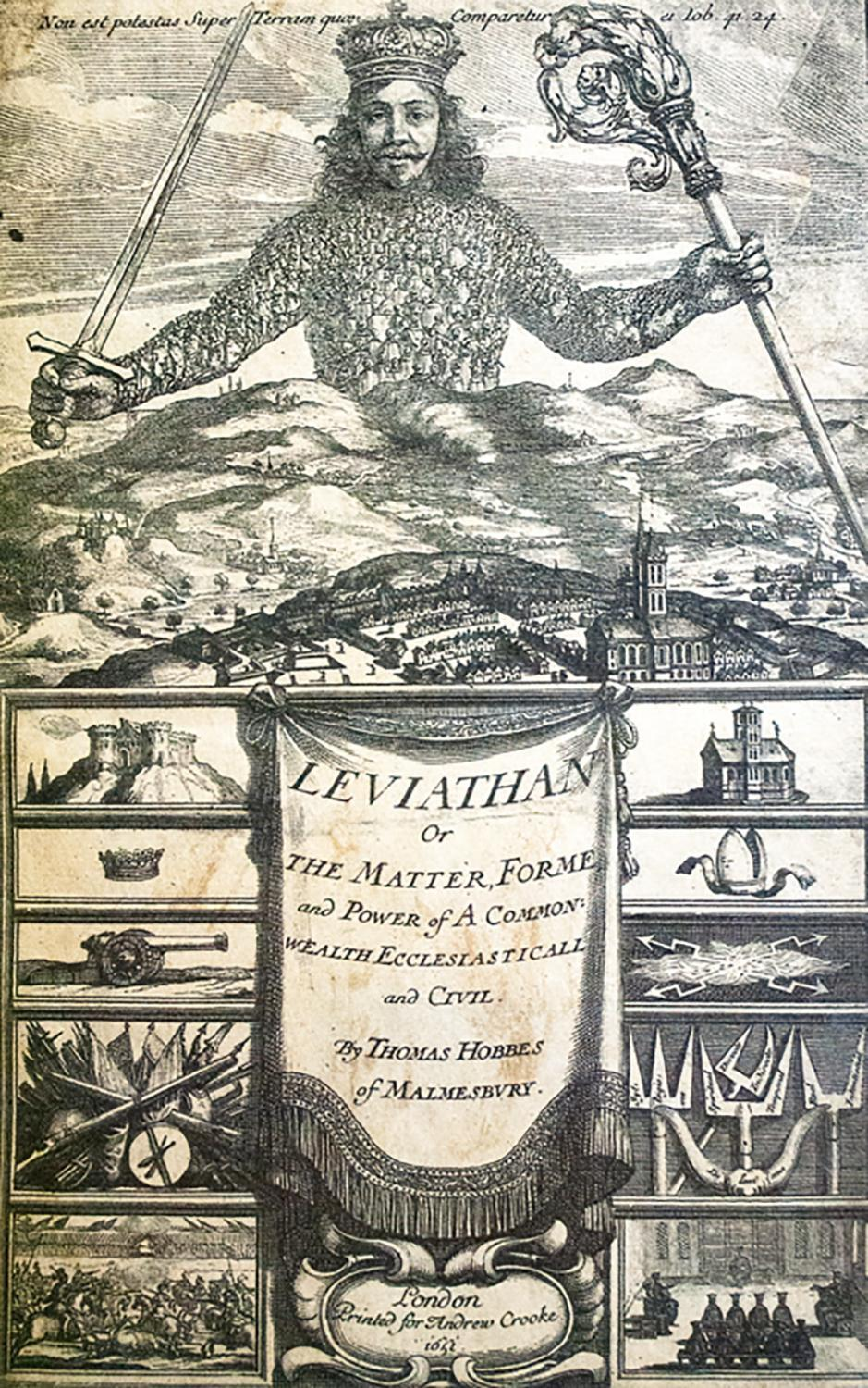 Leviathan, or, The Matter, Forme, & Power of a Common ...