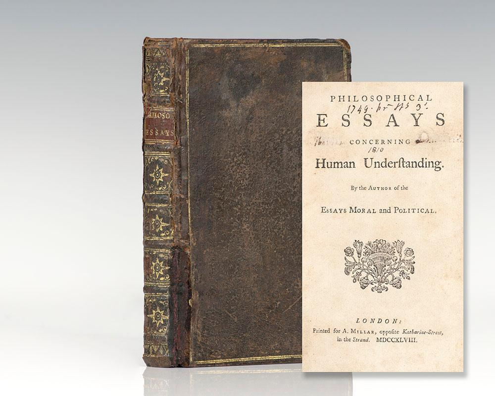 author of an essay concerning human understanding An essay concerning human understanding is a work by john locke concerning the foundation of human knowledge and understanding it first appeared in 1689 (although dated 1690) with the printed title an essay concerning humane understanding.
