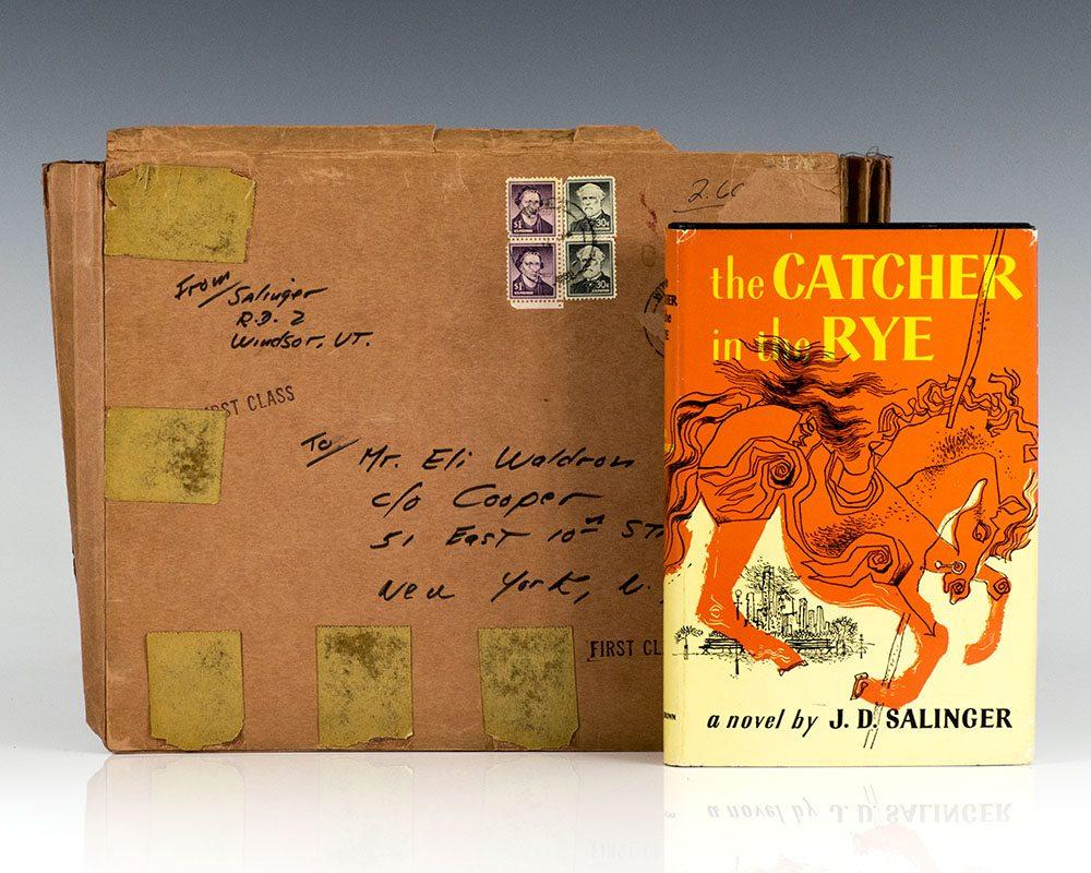 Catcher in the rye by salinger first edition brown abebooks buycottarizona Images