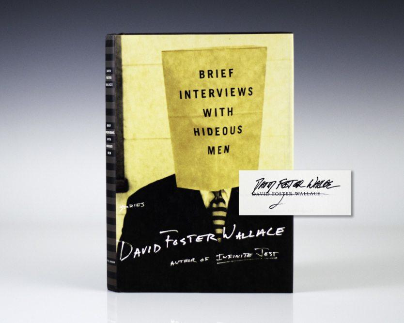 Brief Interviews With Hideous Men. Foster Wallace, David Hardcover
