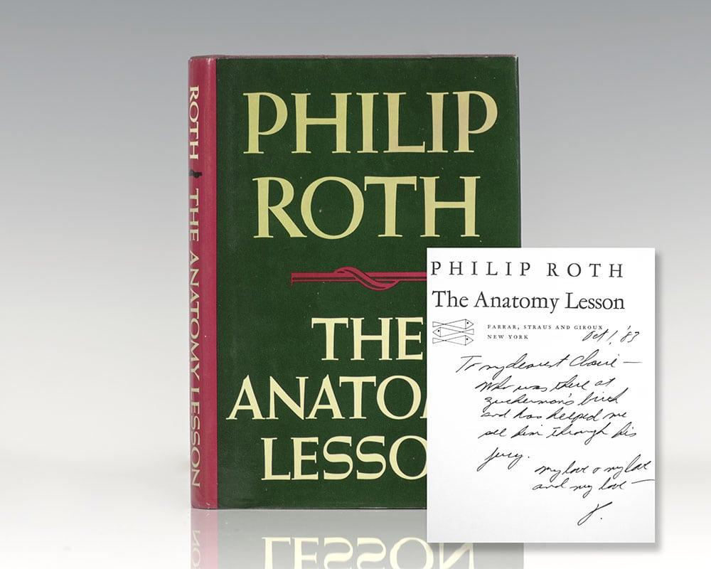 Philip Roth Signed