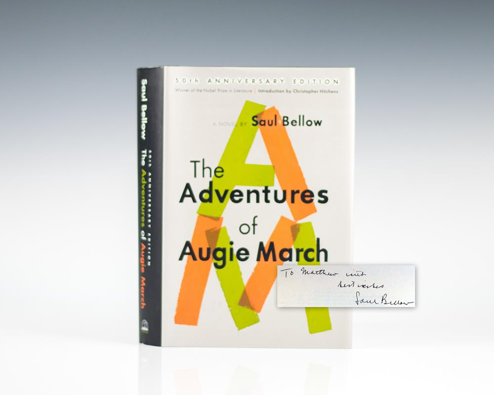 The Adventures Of Augie March By Bellow Saul Viking