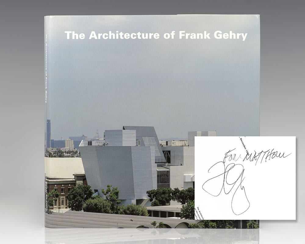The Architecture of Frank Gehry. - Gehry, Frank; Foreword Henry N. Cobb