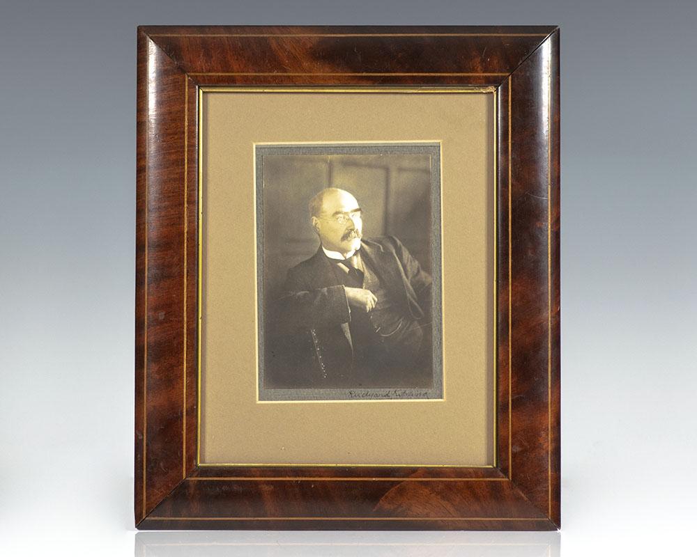 Rudyard Kipling Signed Photograph. Kipling, Rudyard [ ] (bi_30386328809) photo