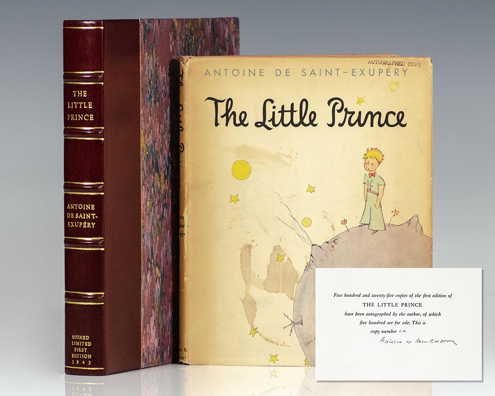 Antoine De Saint Exupery Little Prince 1943 1943 First Edition Seller Supplied Images Abebooks