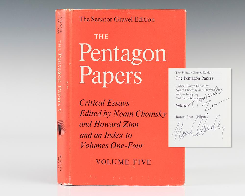 howard zinn signed