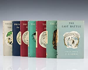 The Chronicles of Narnia Set: The Lion the Witch and The Wardrobe, Prince Caspian, The Voyage of ...