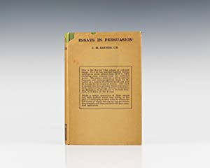 Essays in Persuasion.: Keynes, John Maynard