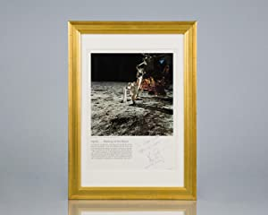 Neil Armstrong Signed Photograph.: Armstrong, Neil