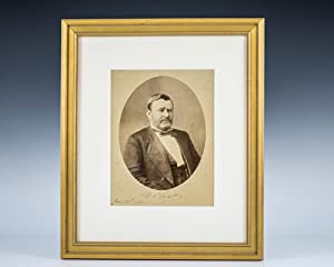 Signed Photograph of Ulysses S. Grant.