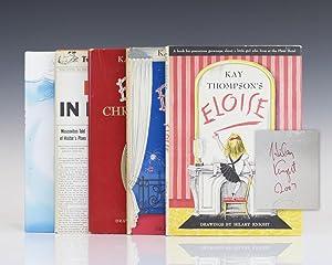 Eloise, Eloise in Paris, Eloise At Christmastime,: Thompson, Kay; Illustrated