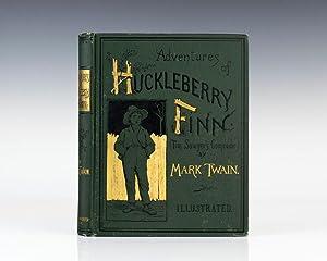 Adventures of Huckleberry Finn.: Mark Twain) Clemens,