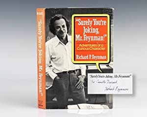 Surely You're Joking, Mr. Feynman!  Adventures of a Curious Character.