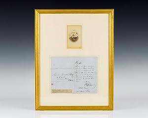 Alexander Dumas Autograph Letter Signed.: Dumas, Alexandre (Alexander)