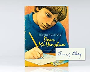 Dear Mr. Henshaw.: Cleary, Beverly