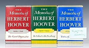 The Memoirs of Herbert Hoover: Years of: Hoover, Herbert