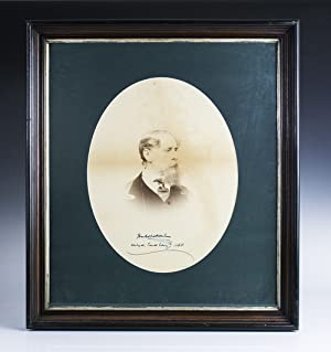 Charles Dickens Signed Portrait Photograph.: Dickens, Charles