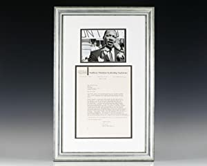 Autograph Letter Signed By Martin Luther King Jr.