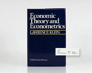 Economic Theory and Econometrics.: Klein, Lawrence
