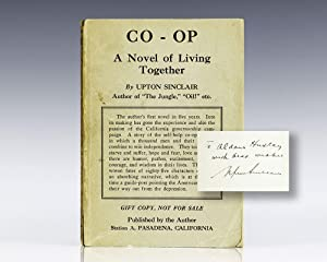 Co-op: A Novel of Living Together.: Sinclair, Upton (Aldous