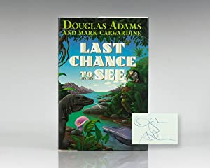 Last Chance To See.: Adams, Douglas and